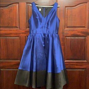 NWT Anthropologie Donna Morgan blue cocktail Dress